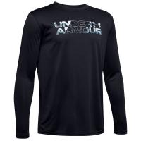 Under Armour Boys' Long-Sleeve Ua Big Logo Print Fill Shirt