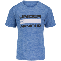 Under Armour Little Boys' Short-Sleeve Twist Heatgear Logo Graphic Tee