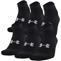 Under Armour Men's Charged Cotton Quarter Length Socks, Pack Of 6
