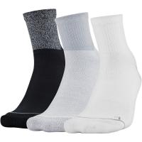 Under Armour Men's Phenom Quarter Sock, 3-Pack