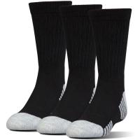 Under Armour Men's Heatgear Tech Crew Socks, 3 Pack