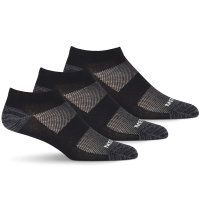 Merrell Men's Low Cut Cushioned Trainer Socks, 3-Pack