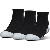 Under Armour Men's Heatgear  Low-Cut Socks, 3 Pack