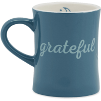 Life Is Good Grateful Diner Mug