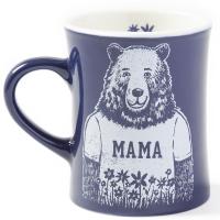 Life Is Good Mama Bear Diner Mug