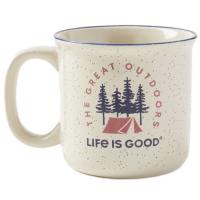 Life Is Good Happy Camper Mug