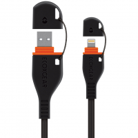 Ecoxgear Waterproof Lightning To Usb Cable, 4 Ft.