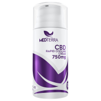 Medterra 750 Mg Topical Cbd Cooling Cream, 3.4 Oz.