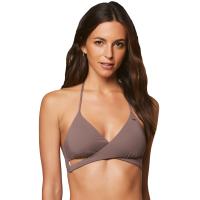 O'neill Juniors' Salt Water Solids Wrap Bikini Top