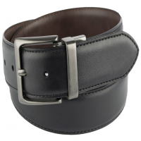 Levi's Men's 38Mm Reversible Leather Belt With Logo Shank