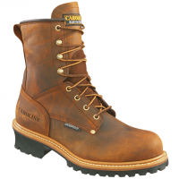 Carolina Men's 8 In. Crazy Horse Steel Toe Waterproof Work Boots, Wide Width