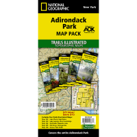 Nat Geo Adirondack Park Map Pack