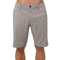 O'neill Men's Locked Heather Herringbone Hybrid Shorts