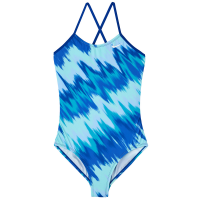 Nike Girls' Immiscible Print One-Piece Swimsuit