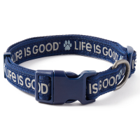 Life Is Good Paw Dog Collar