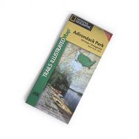 Nat Geo Adirondack Park Map, Old Forge/oswegatchie