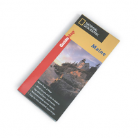 Nat Geo Maine Guide Map