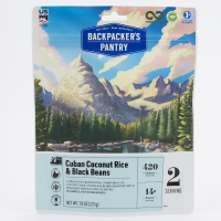 Backpacker's Pantry Cuban Coconut Black Bean And Rice