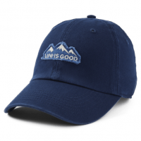 Life Is Good Mountain Tattered Chill Cap