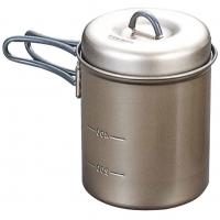 Evernew 0.6L Titanium Ns Deep Pot With Handle
