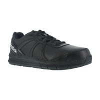 Reebok Work Men's Guide Work Steel Toe Work Shoes, Black