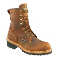 Carolina Men's 8 In. Crazy Horse Steel Toe Waterproof Work Boots