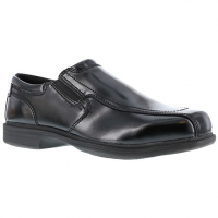 Florsheim Work Men's Coronis Steel Toe Slip On Oxford Shoe, Black