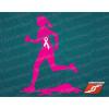 Sportstickers Womens Trail Runner, Pink