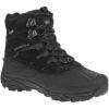 Merrell Men's Moab Polar Wp Winter Hiking Boots, Black