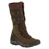 Merrell Women's Polarand Rove Peak Wp Winter Boots, Black Slate
