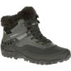 Merrell Womens Fluorecein Shell 6 Waterproof Winter Boots, Black