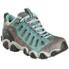 Oboz Womens Sawtooth Low Bdry Waterproof Hiking Shoes, Mineral Blue
