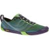 Merrell Womens Vapor Glove 2 Running Shoes, Bright Green/purple