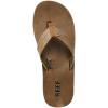 Reef Men's Draftsmen Flip-Flops, Bronze Brown