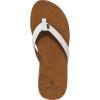 Reef Womens Miss J-Bay Flip-Flops, Tan/white
