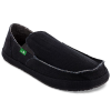 Sanuk Men's Rounder Shoes, Black - Size 14
