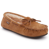 Lamo Women's Kayla Sherpa Moccasin Slippers, Chestnut - Size 6