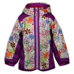 Snow Dragons Kissable Ski Jacket (Little Girls')