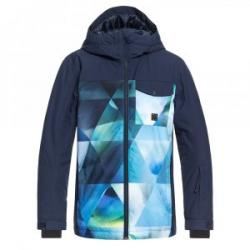 Quiksilver Mission Block Insulated Snowboard Jacket (Boys')