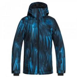 Quiksilver Mission Printed Insulated Snowboard Jacket (Boys')