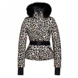 Goldbergh Wild Down Ski Jacket with Real Fur (Women's)
