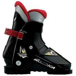 Nordica Super N01 Ski Boots, Black (Little Kids')
