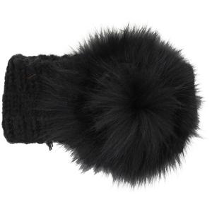 Peter Glenn Fur Flower Headband (Women's)