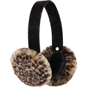 Peter Glenn Cheetah Sheared Mink Earmuff (Women's)