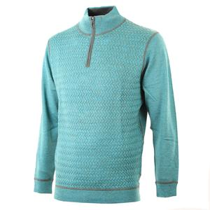 Bugatchi Half Zip Sweater (Men's)