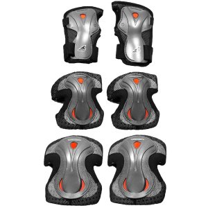Rollerblade Lux Plus 3-Pack Wrist, Elbow, and Knee Pads (Women's)