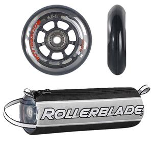 Rollerblade 76mm Inline Skate Wheel and Bearing 8-Pack Kit