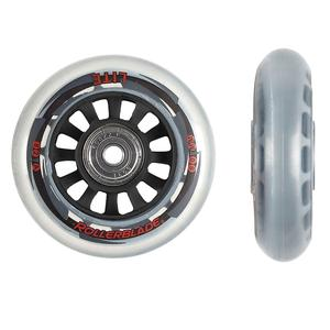 Rollerblade 80mm Inline Skate Wheel and Bearing 8-Pack Kit