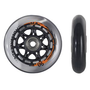 Rollerblade 90mm Inline Skate Wheel and Bearing 8-Pack Kit