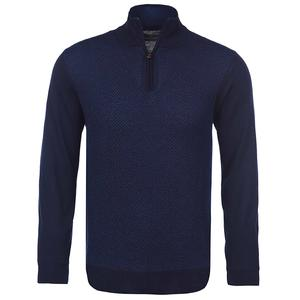 Bugatchi Italian Wool Half Zip Sweater (Men's)